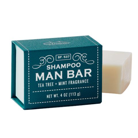 Man Bar Shampoo - Tea Tree & Mint