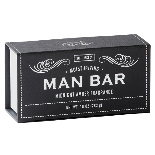 Man Bar - Moisturizing Midnight Amber