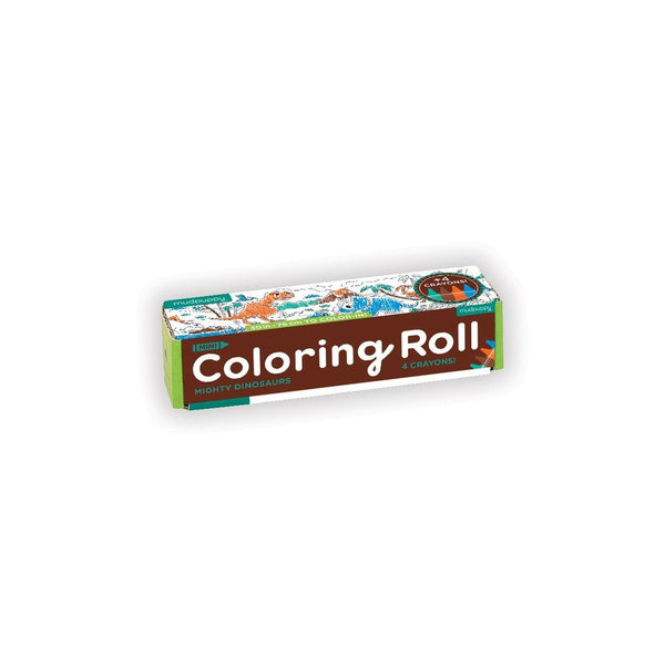 Mini Coloring Roll - Mighty Dinosaurs