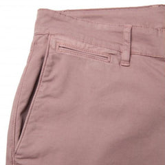 Stretch Cotton Chino Design 702: Rosewood