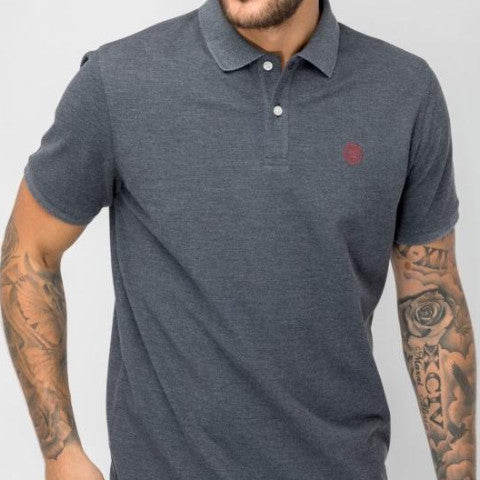 Stretch Pique Polo: Anthracite