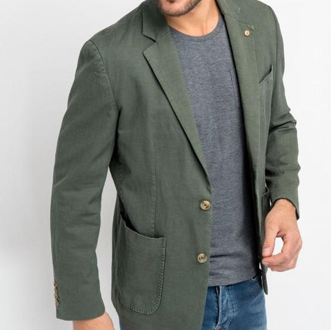 Newton Linen & Cotton Jacket: Ranger