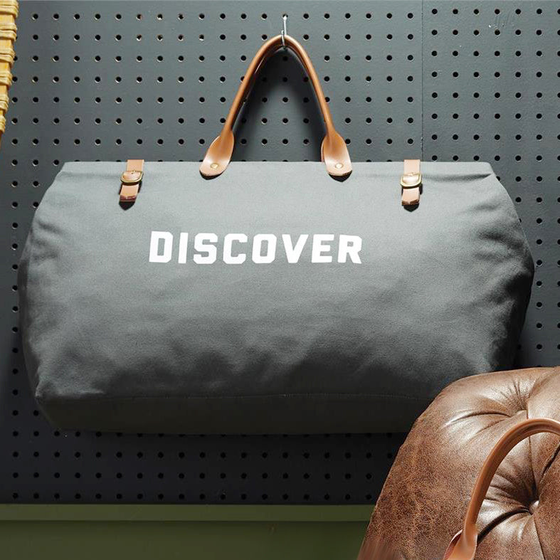 Discover Cotton Canvas Bag