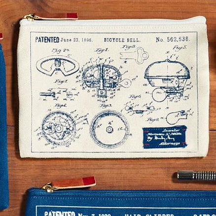 Blueprint Pouch: Bicycle Bell (S)