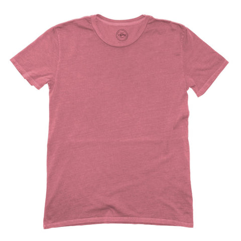 South Seas Crew Tee: Cranberry