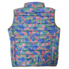 Ultra-Light Quilted Down-Alt Vest: Camo