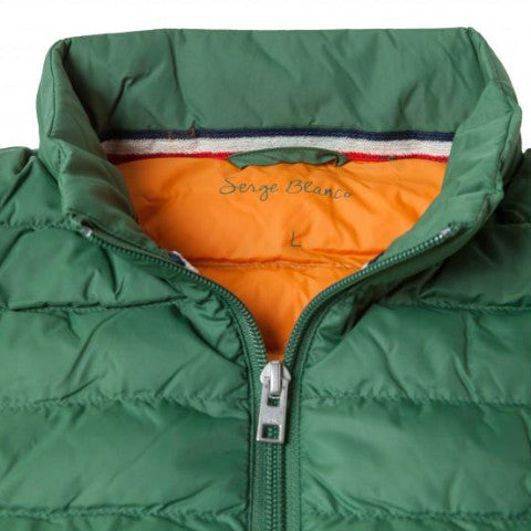 Ultra-Light Quilted Down-Alt Vest: Mint