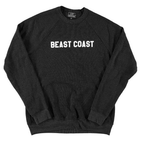 Beast Coast Sweatshirt: Black