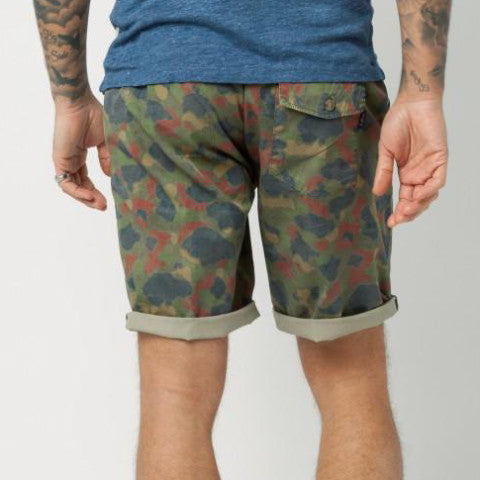 Camouflage Print Short