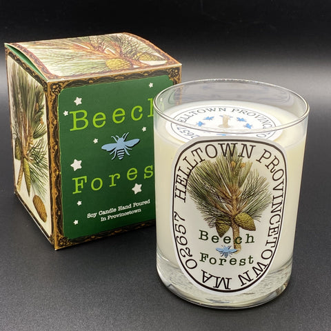 Soy Wax Candle: Beach Forest