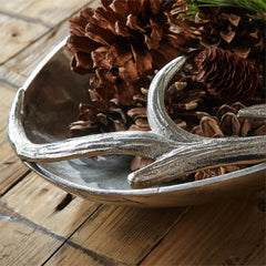 Silver Antler Tray: Small