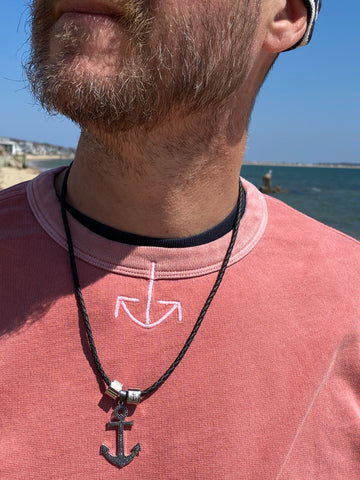 Large Anchor Necklace