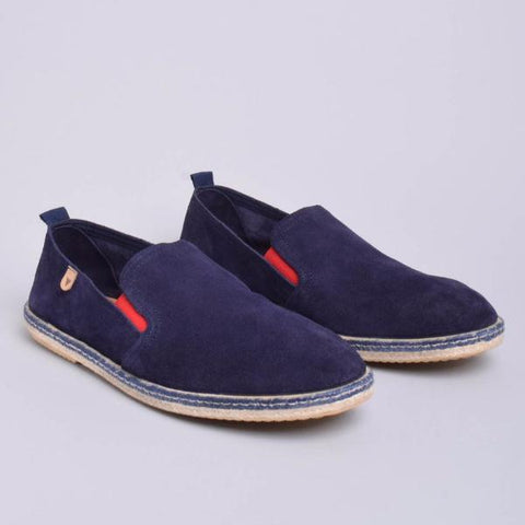 Tom Suede Loafers: Navy