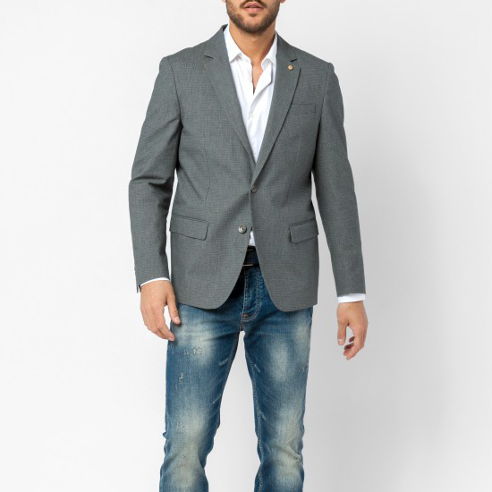 "Sport Coat ""Sutton"": Anthracite"