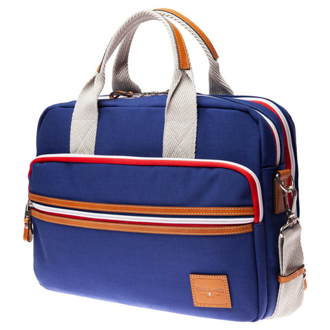 Canvas Satchel: Marine