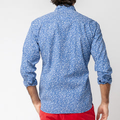 Bubble Shirt: Blue
