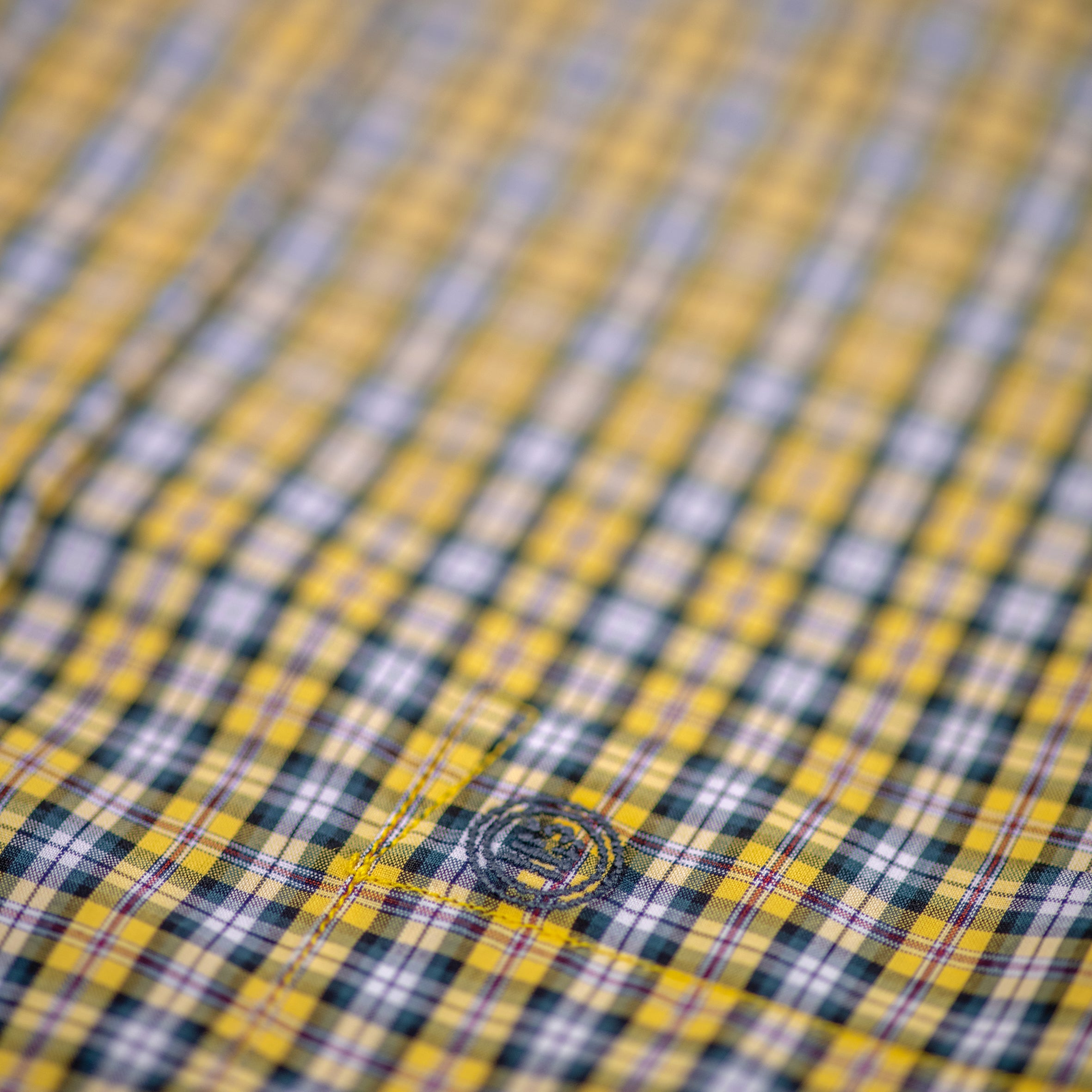 Honeybee Plaid Shirt