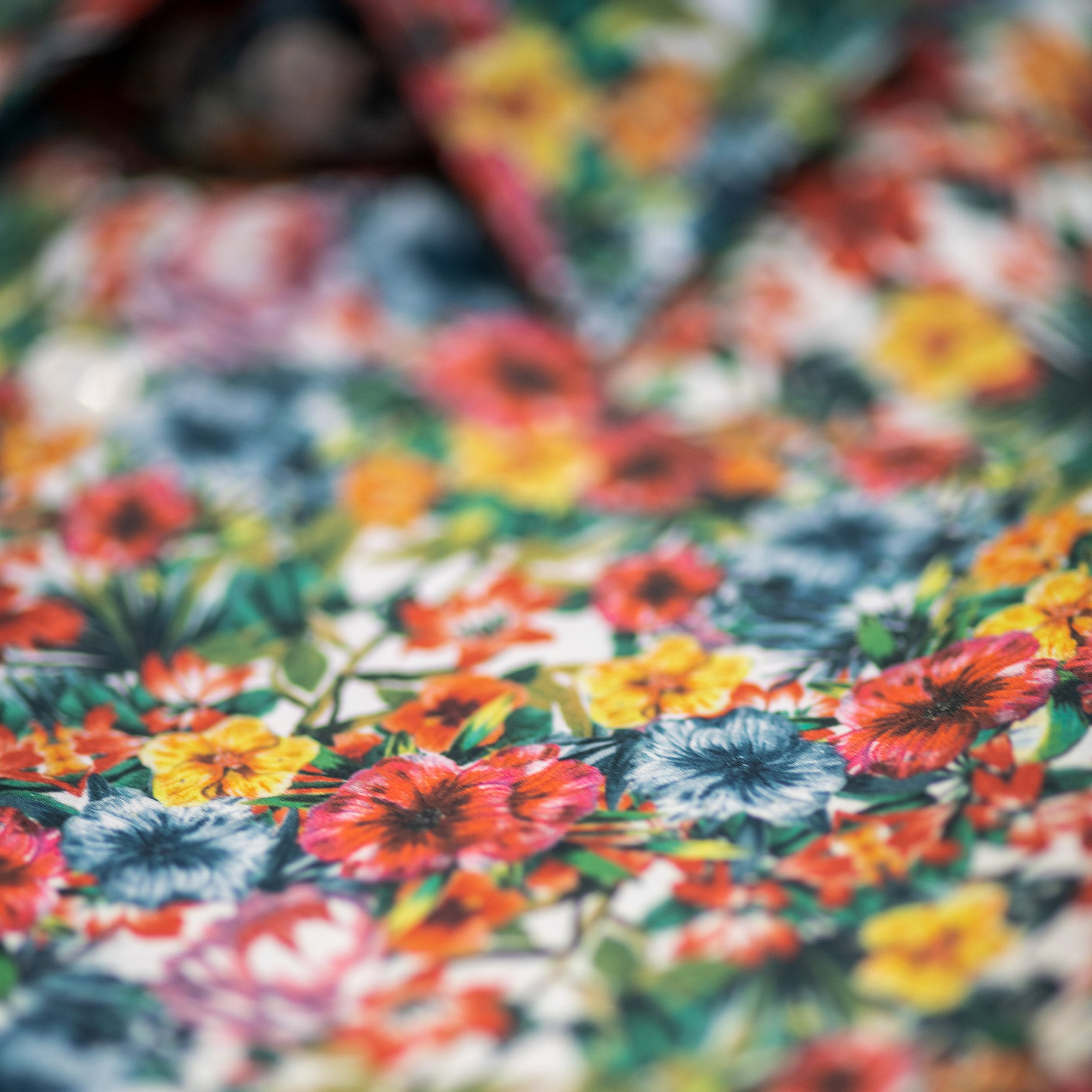 Tropical Orchids Shirt: Multicolor