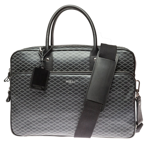 Excellence Vegan Leather Satchel: Helix