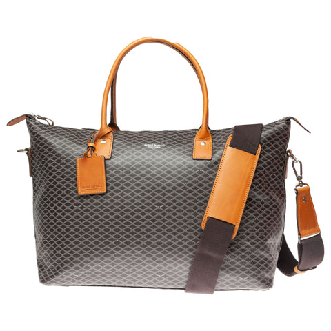Excellence Vegan Leather Overnight Bag: Helix