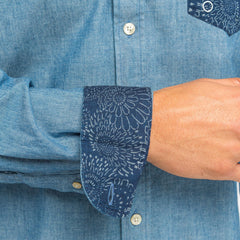 Chambray Shirt: Indigo