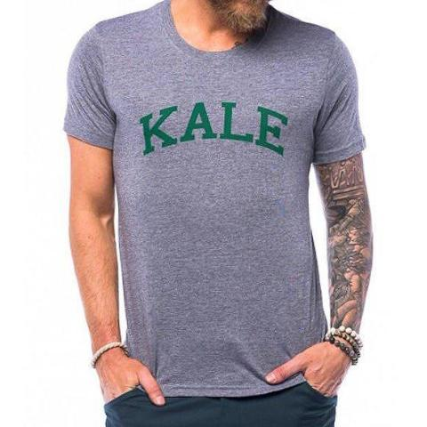 Kale Tee: Heather Grey