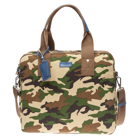 Canvas Camo Satchel: Army