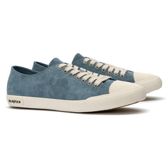 Army Issue Suede Sneaker: Blue Mirage
