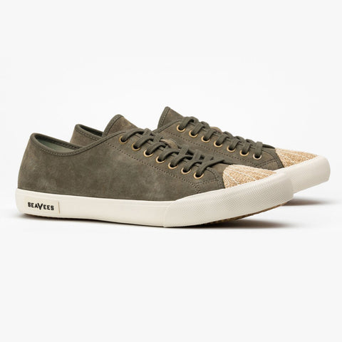 Army Issue Sneaker Low: Dark Moss