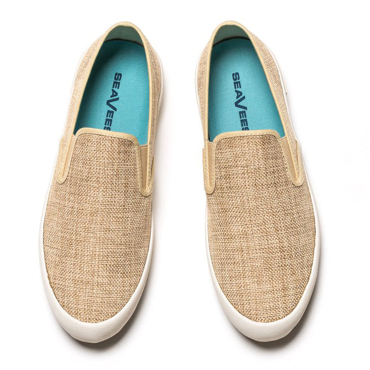Baja Slip On Raffia: Natural