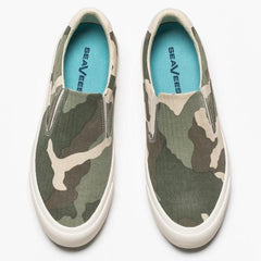 Hawthorne Slip On Saltwash: Dark Moss Camo