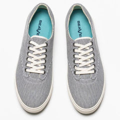 Hermosa Plimsoll: Railroad Stripe