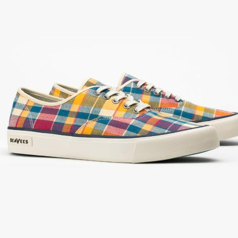 Legend Sneaker Madras: Natural