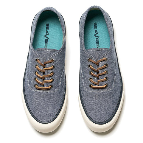 Legend Sneaker Chambray: Navy