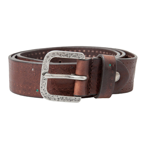 Leather Belt: Chocolate