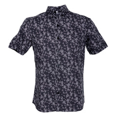 Night Bush Short Sleeve: Black