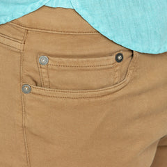 Powertwist 5-Button Jeans: Hazelnut