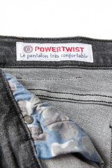 Power Twist 325 Denim: Black