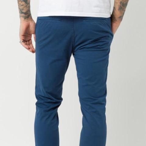 Stretch Cotton Chino Design 702: Indigo 08