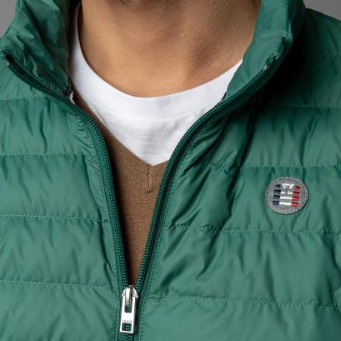 Ultra-Light Quilted Down-Alt Jacket: Emerald