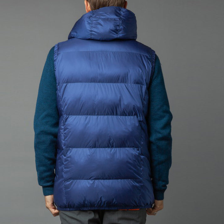 Gaston Quilted Hooded Down-alternative Vest