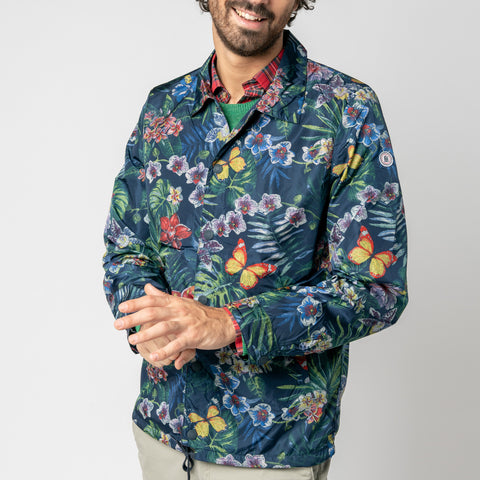 Hugo Tropical Print Jacket: Galaxie