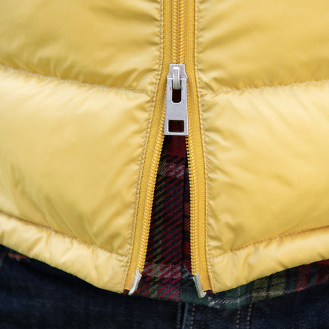 Matt Parka Vest: Yellow