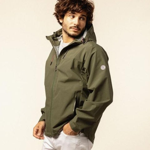 Storm Raincoat: Military Green