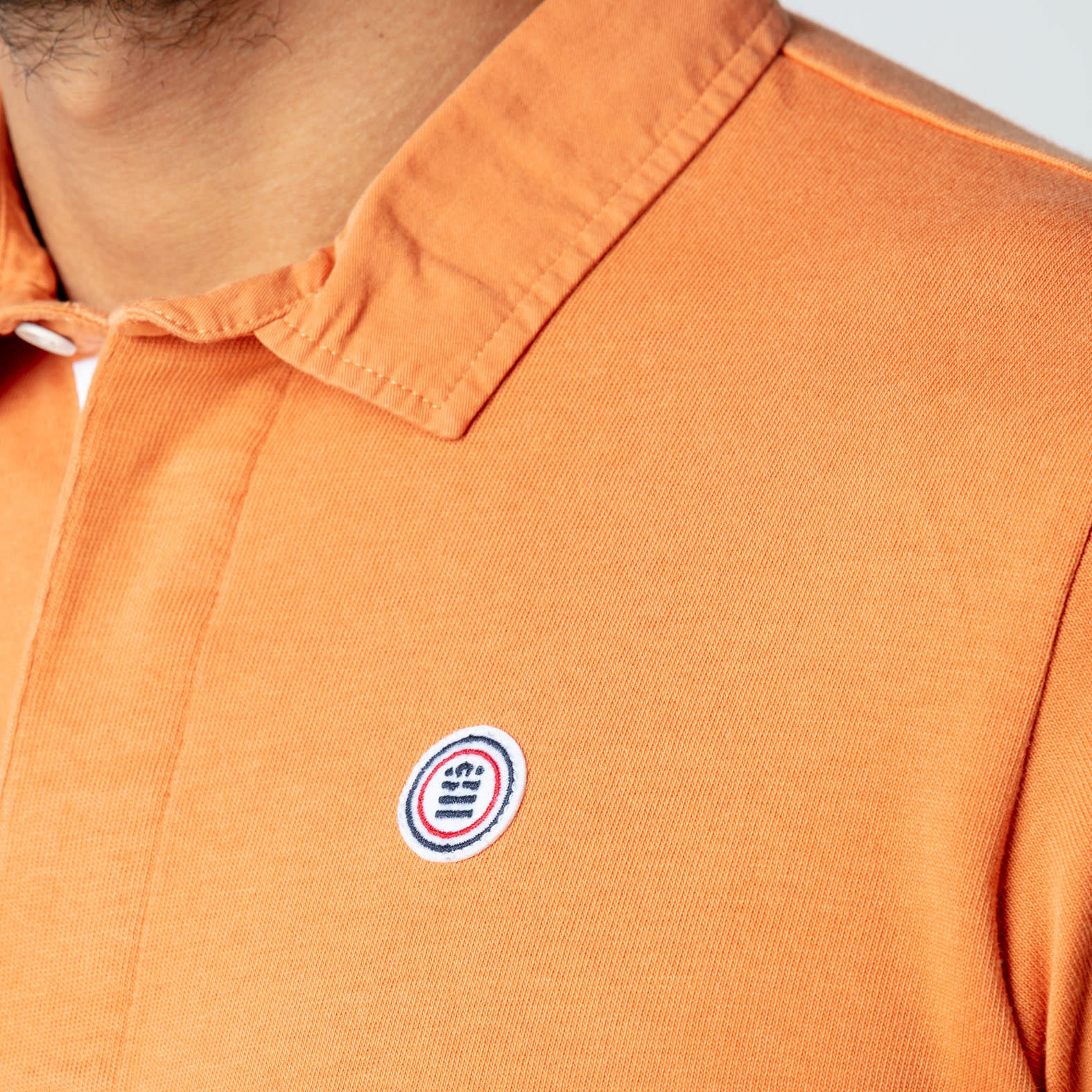 Jersey Polo: Old Orange