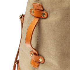 Canvas Duffel (Small): Sable