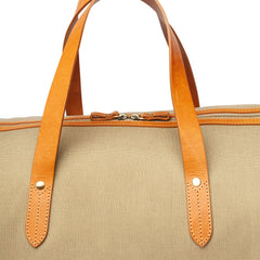 Canvas Duffle: Sable