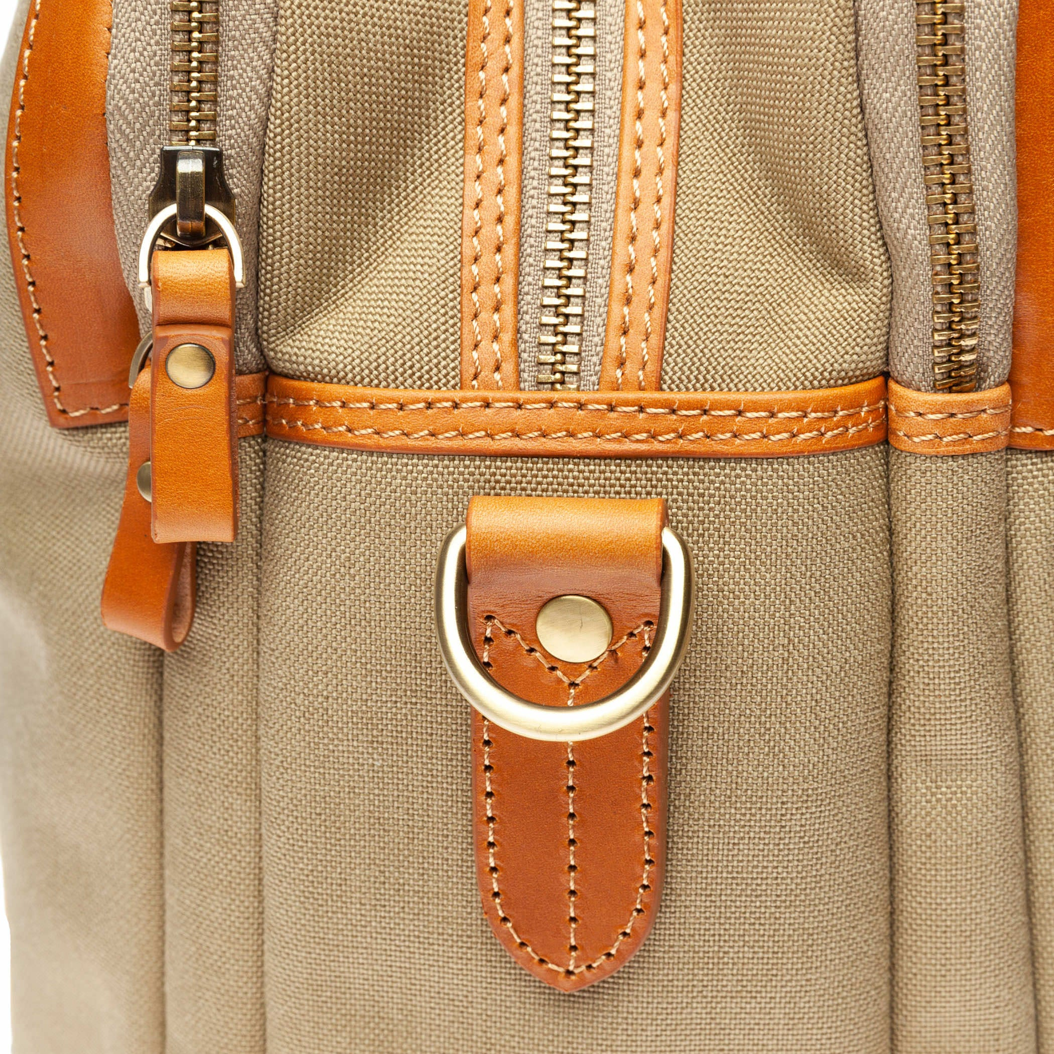 Canvas Satchel: Sable