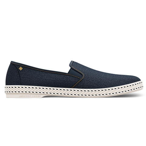 Dark Blue Jean Loafer