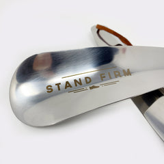 "Metal Shoe Horn: ""Stand Firm"""